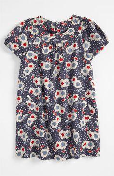 Mini Boden 'Fun' Print Dress (Toddler, Little Girls & Big Girls) available at Nordstrom