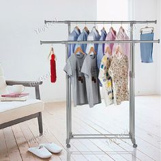 Convenient Clothes Rack Garment Rack Laundry Rack with Shoe Rack Shoe Shelf for Household HHI-270355