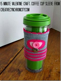 coffee warmer from a sock!