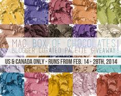 Blogger Curated MAC Palette Giveaway via @Laura Gallaway