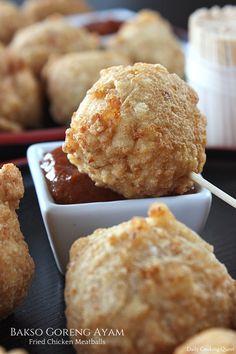 Bakso Goreng Ayam – Fried Chicken Meatballs