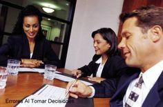 Errores al Tomar Decisiones Empresariales