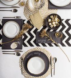 Die 22 Besten Bilder Von Tischdekoration In Schwarz Weiss Schwarz