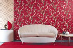http://www.drissimm.com/wp-content/uploads/2015/11/luxurious-red-floral-wallpaper-wall-plus-rug-and-white-cushions-between-short-table-ideas.jpg