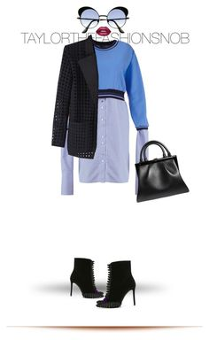 """""""Untitled #626"""" by taylorthefashionsnob ❤ liked on Polyvore featuring Anouki, Marco de Vincenzo, Isabel Marant, Lime Crime and Perrin"""