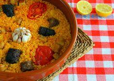 Arroz al horno #gastronomía #ValldePop https://www.facebook.com/valldepop