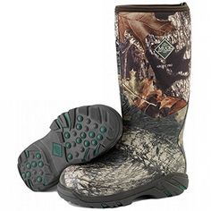 Muck Boots Women's Arctic Pro Camo Waterproof/ Insulated/ Hunting ACP-MOBU *** Amazing product just a click away  : Outdoor Shoes