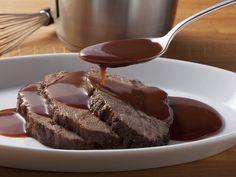 Braten vom Rind mit Soße - smarter - Zeit: 45 Min. | eatsmarter.de