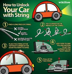 Unlock Your Car with String