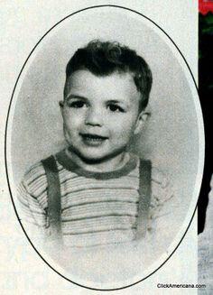 Tom Selleck ~ look how cute he was as a little boy.