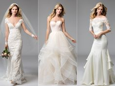 See every stunning wedding dress from the Wtoo Fall 2016 collection here.