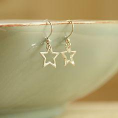 Silver Star Earrings | Adela Rome | Handmade Jewellery