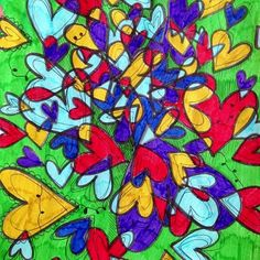 Hearts Art by Belinda Fireman via www.facebook.com/firemanbell and find more at her artist webite: www.belindafireman.wordpress.com