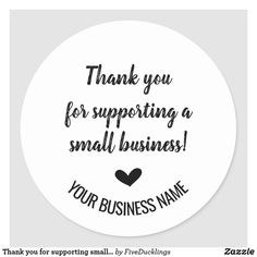 Small Town Business Ideas, Small Business Quotes, Small Business Cards, Business Thank You Cards, Support Small Business, Business Labels, Tshirt Business, Business Stickers, Etsy Business