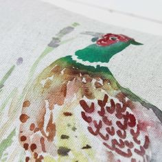 Mr Pheasant Cushion - Voyage Maison at Lily and Moor