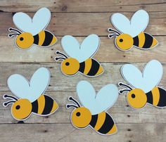 Bee Crafts, Flower Crafts, Paper Crafts, Spring Crafts For Kids, Projects For Kids, Bee Template, Bee Activities, Plastic Bottle Art, Bee Party