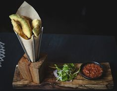This recipe for #avocado fries is about as easy as deep-fried recipes get. #FoodRepublic