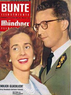 1960: König Baudouin und Königin Fabiola von Belgien