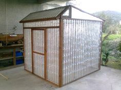 plastic bottle green house DIY!