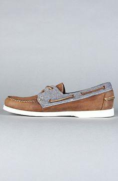 Sebago  The Spinnaker Boat Shoe in Light Brown