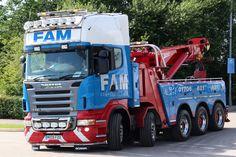 Scania R620 tow wrecker truck