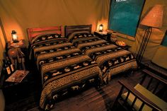 Safari Tent bedroom