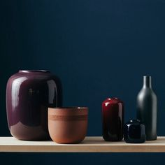 Understated Elegance - Vorster + Braye's Parabolic Carafes and Geometric Vases