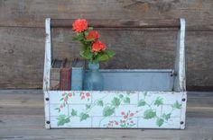 vintage Craftsman Carryall toolbox