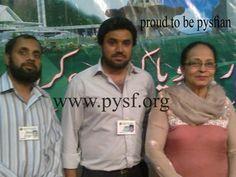 Vice President Masroor Ahmad Khan with Coordinator Zain Khan and Madam Zaheen Tahira Radio Pakistan, Vice President, Presidents