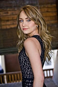 Amber Marshall- taken by Denise Grant Photography.   Such a humble & down to earth actress.  Need more people like her in the world. Beautiful Role Model