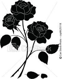 Find Flowers Rose Bouquet Love Symbol Floral stock images in HD and millions of other royalty-free stock photos, illustrations and vectors in the Shutterstock collection. Flower Silhouette, Silhouette Clip Art, Silhouette Images, Black Silhouette, Flower Outline, Flower Art, Rose Tattoos, Flower Tattoos, Flower Plant Images