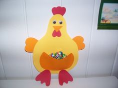 La poule Egalntine confectionnée différemment