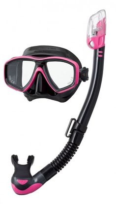 5fb6dc19a2e1 Tusa Freedom Ceos Mask and Hyperdry Elite II Snorkel Set - The Scuba Doctor  Dive Shop