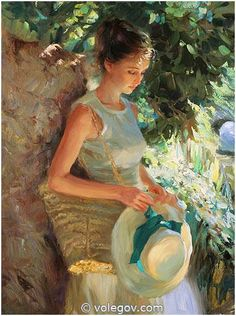 We are professional Vladimir Volegov supplier and manufacturer in China.We can produce Vladimir Volegov according to your requirements.More types of Vladimir Volegov wanted,please contact us right now! Painting People, Woman Painting, Figure Painting, Painting & Drawing, Vladimir Volegov, Art Amour, Poses References, Beautiful Paintings, Oeuvre D'art