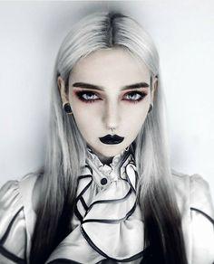 """12.8k Likes, 40 Comments - Logo by @blackveiltattoo (@darkartistries) on Instagram: """"@djerq  #dark #halloween #witch #witchcraft #goth #gothgirl #gothgoth #vampire #bloody #art…"""""""