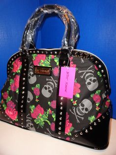 Betsey Johnson skull purse... just got this one for Christmas!