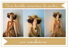 Bambola angelo in stile anni '30 http://silviaefamilydeco.blogspot.it/