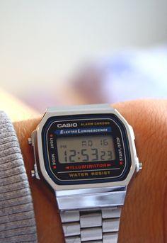 c8f56f79b Casio El plateadote $450 Relógio Casio, Relógios Masculinos, Relógios  Antigos, Casio Digital,