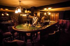 Searching for a quirky yet cool setting for sipping on cocktails? Look no further than our list of the capital's coolest and quirkiest venues. Whether you fancy a trip back in time to 1940's America, 1920's post-war Britain or the curious Victorian era, from fairground interiors to secret speakeasies we've gathered the quirkiest and most unconventional bars London has to offer.
