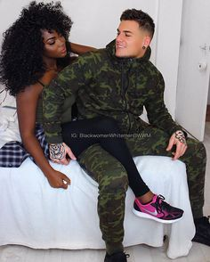Absolutely gorgeous interracial couple #love #wmbw #bwwm #favorite ❤
