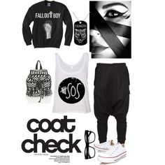 Polyvore Android app. http://www.polyvore.com/android