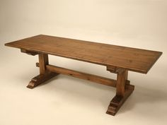Authentic Italian Style Farm Table