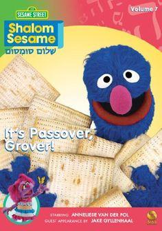 Shalom Sesame, 2010, No. 7: It's Passover, Grover! $13.99