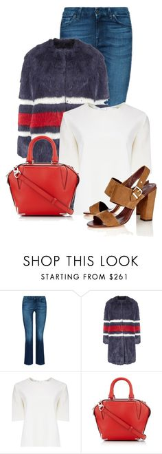 """""""Untitled #13852"""" by nanette-253 ❤ liked on Polyvore featuring AINEA, Thomas Tait, Alexander Wang, Vanessa Bruno, women's clothing, women's fashion, women, female, woman and misses"""