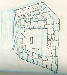 Sketch of kiln