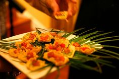 Ahi Tuna, Avocado, Chipotle Aioli in Tortilla Chip. Amazing! www.divinemenuscatering.com