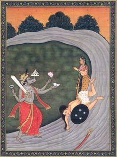 Vishnu Everywhere — Varah Avatar of Lord Vishnu