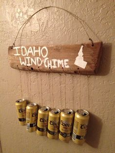 """White elephant gift.. but """"redneck wind chime"""""""