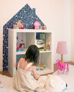 Puppenhaus / Puppenvilla selber machen - Limmaland