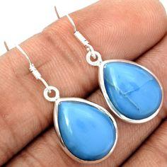 Owyhee Opal 925 Sterling Silver Earrings Jewelry OYOE63 - JJDesignerJewelry